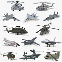 US Military Aircrafts Collection 3