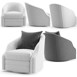 3D furniture armchair chair model