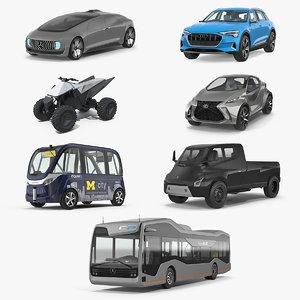3D concept cars 2 model
