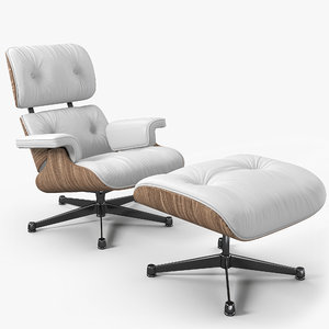 3D model chair 1956 eames