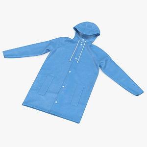 raincoat jacket rain 3D model