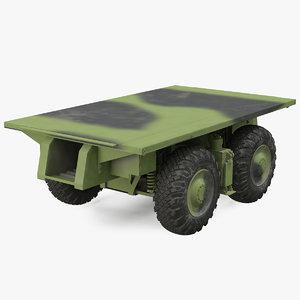 3D axle platform camo 4
