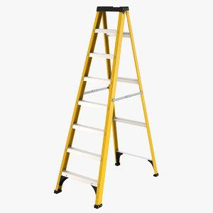 3D model ladder tool industrial