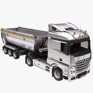 dumper dump truck 3D model