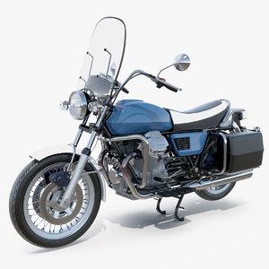 3D model classic motorbike bike motor