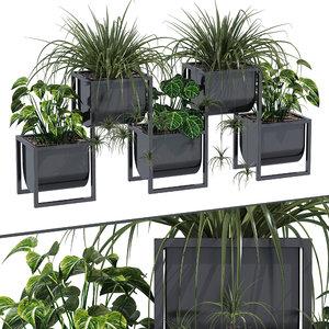 3D nyx planter decor