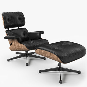 chair 1956 eames 3D model