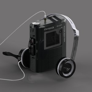 3D walkman aiwa model