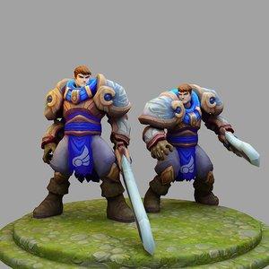 3D league legends : model