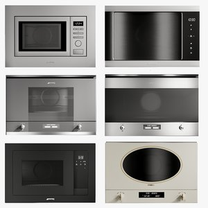 3D realistic microwave oven 1