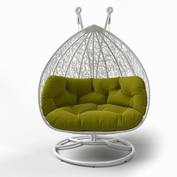 Chair Cocoon 3d Turbosquid 1524399