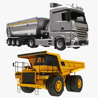 Dumper Truck and Minning Truck Collection