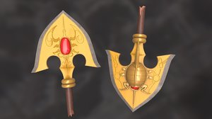 requiem arrow jojo s 3D model