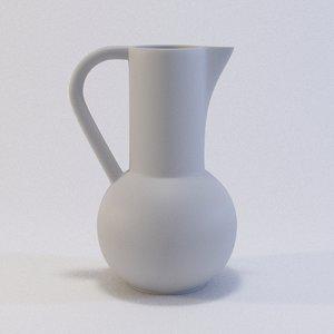 3D jug model
