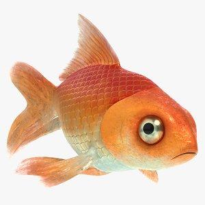3D goldfish pbr