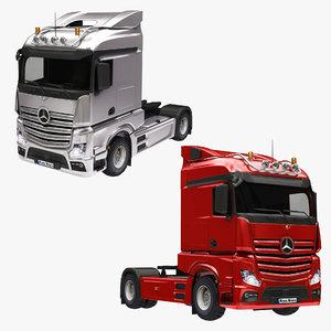3D model mercedes truck