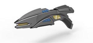 romulan disruptor rifle 3D