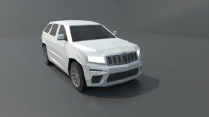 jeep grand cherokee 2019 3D