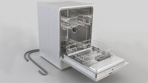 3D model dishwasher