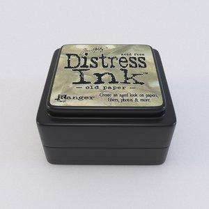 3D ink distress