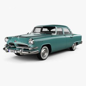 dodge coronet 1955 3D