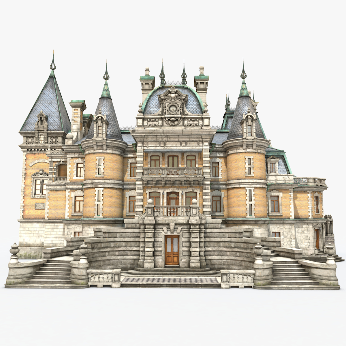 3D massandra palace model