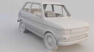 car fiat 126p model
