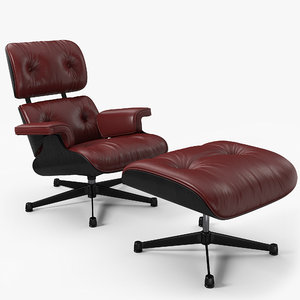 chair 1956 eames 3D