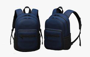 luggage fashion bag 3D