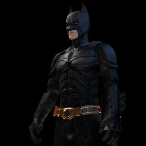 3D batman dark knight model