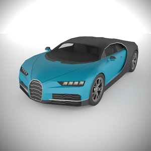 3D polycar n71 lp1 cars