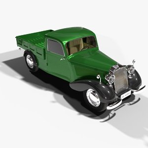 mercedes 170 pickup 3D model