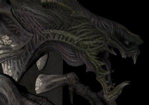 monster wall 3D model