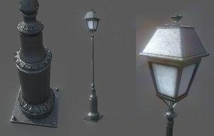 3D lampost