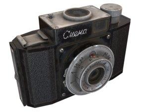 camera smena 3D model