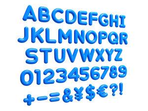 letter alphabet 3D
