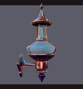 3D lamps unreal unity model