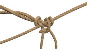 3D model ropes tool industrial