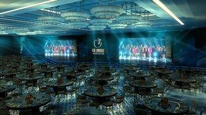 seasons bosphorus ballroom 3D model
