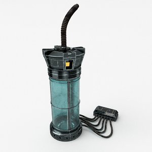 3D sci-fi chamber