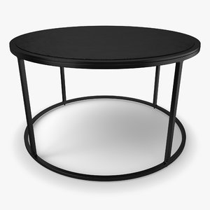 knurl small coffee table 3D model