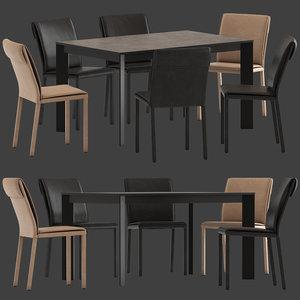 altacom molly chair teorema 3D model