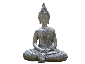 3D diamond buddha model