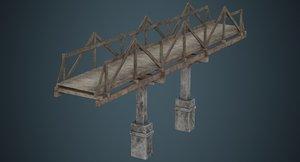 plank bridge 3b 3D
