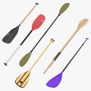 3D paddles 4 model