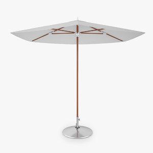 3D dedon parasol hexagon