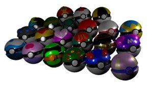 pokeball 3D