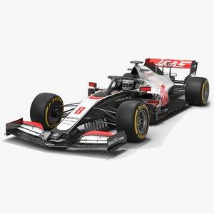 haas f1 team formula 1 model