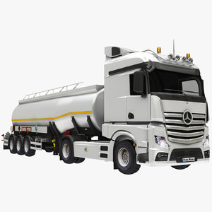 3D tanker tank model