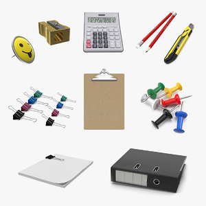 stationery 3 3D
